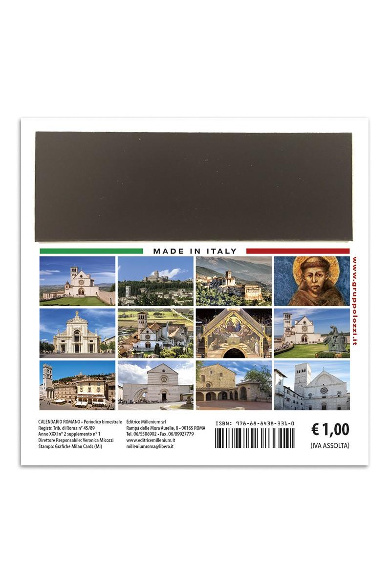 Panorama Calendario.Calendario Magnetico Assisi Panorama